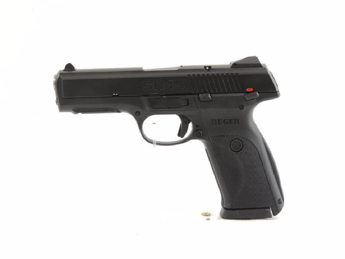 Ruger Model SR45 45 Auto Cal. Semi-Auto Pistol with