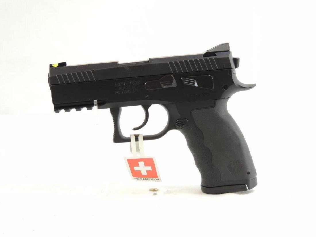 Spinx SDP Compact 9mm Para Semi-Auto Pistol with Case