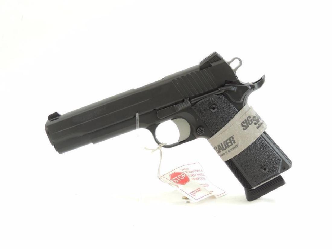 Sig Sauer Model 1911 .45 Auto Semi-Auto Pistol with