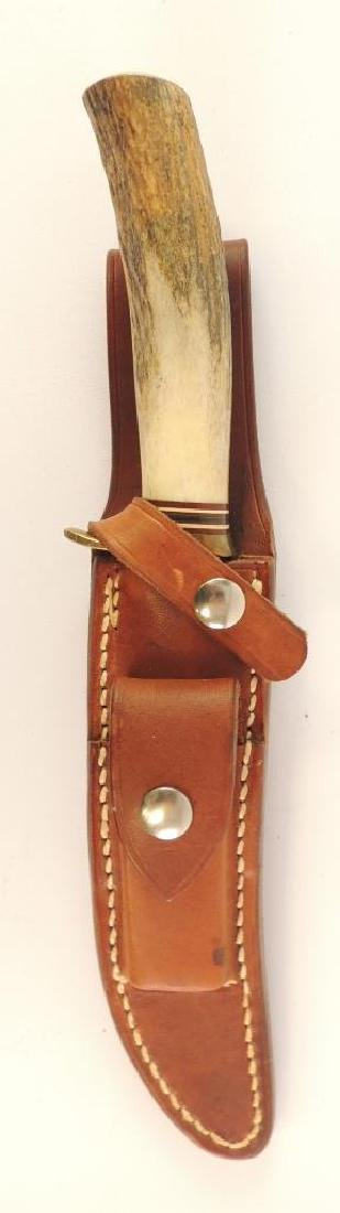 Randall Model 3 Hunter Style Knife with Leather Sheath