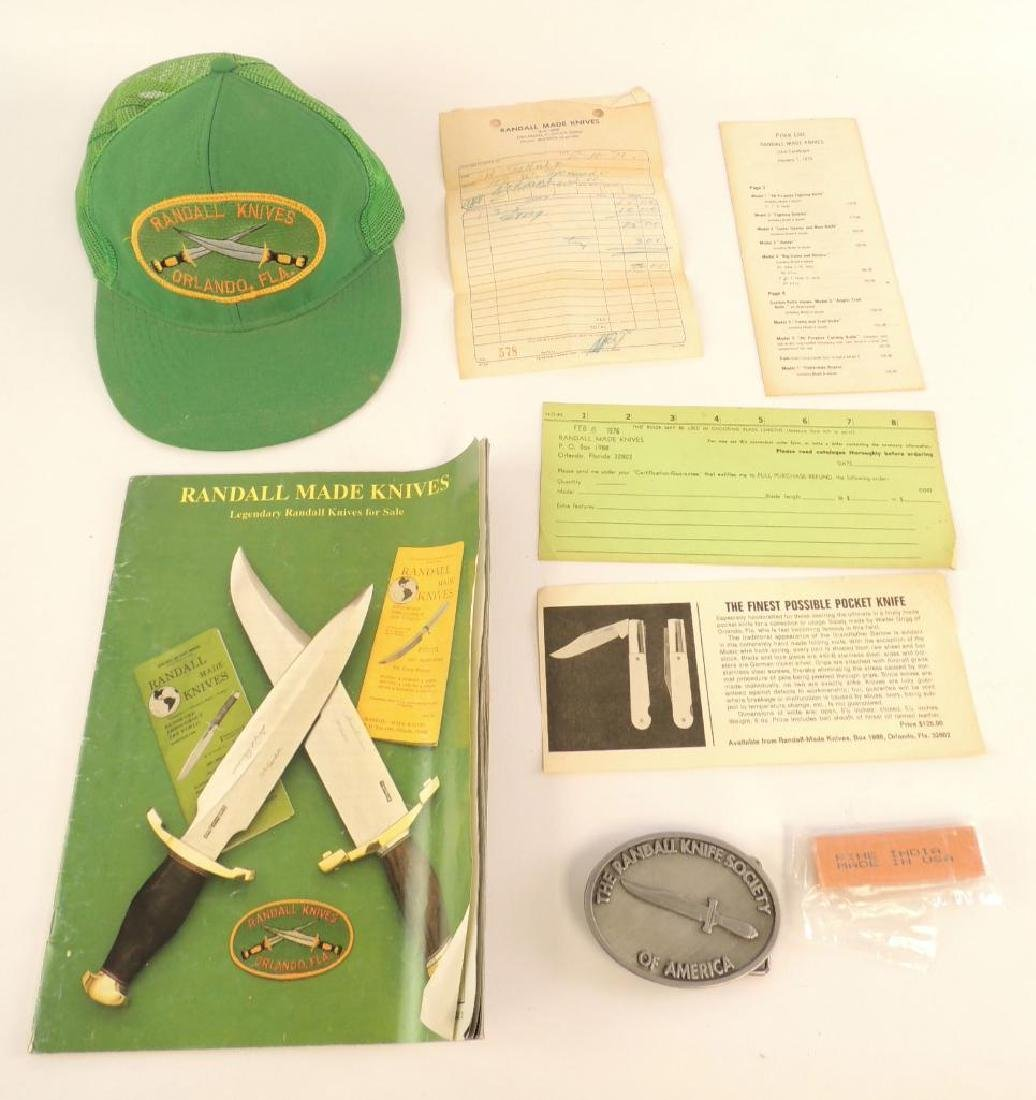 Group of Miscellaneous Randal Knife Items