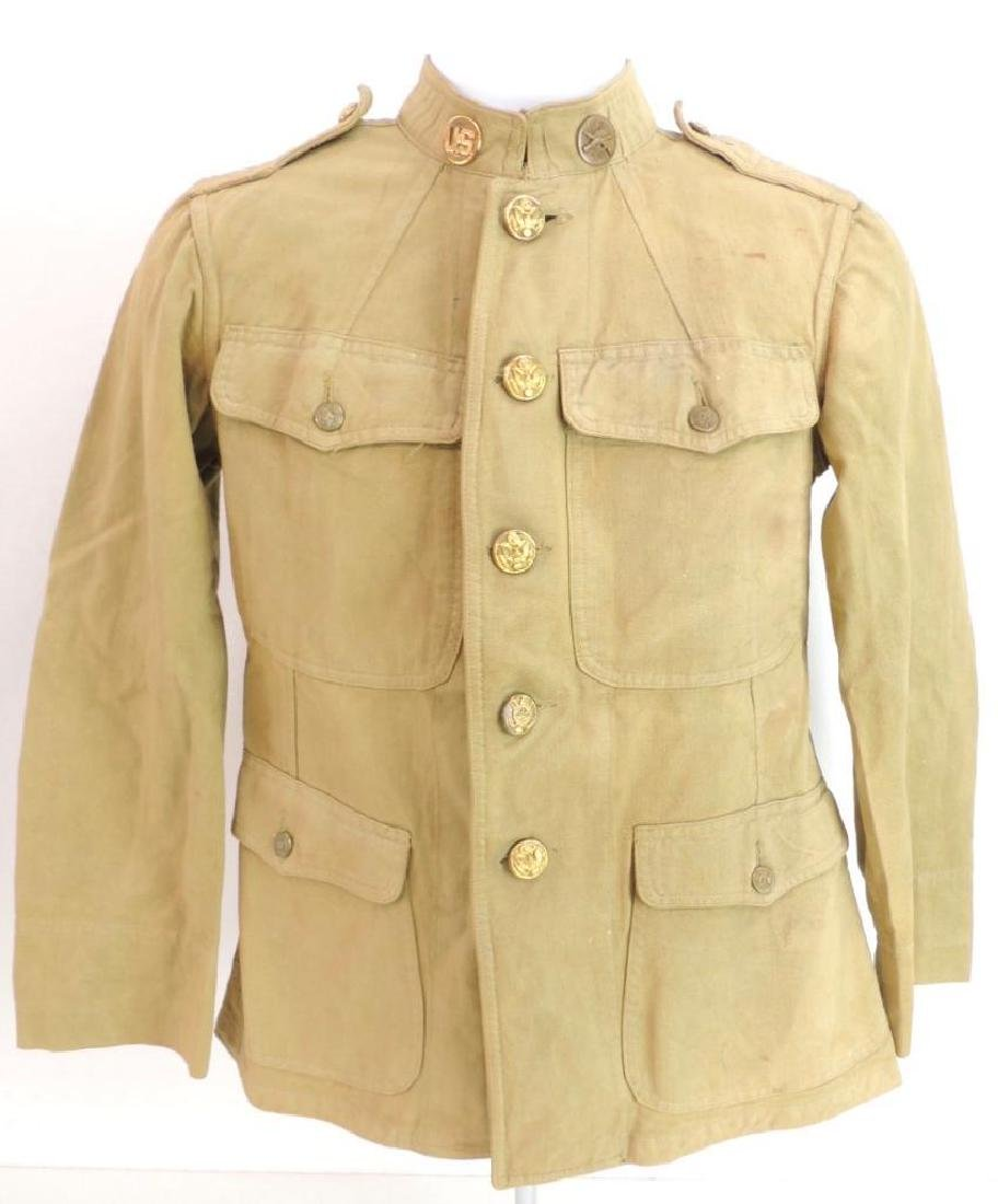WW1 U.S. Army Infantry Corps Tunic with Brass Buttons