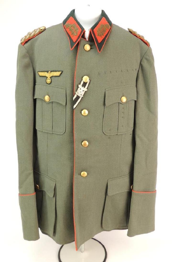 WW2 German Army General Tunic with Spangle and Others