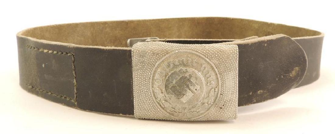 WW2 German Police Belt Buckle with Belt