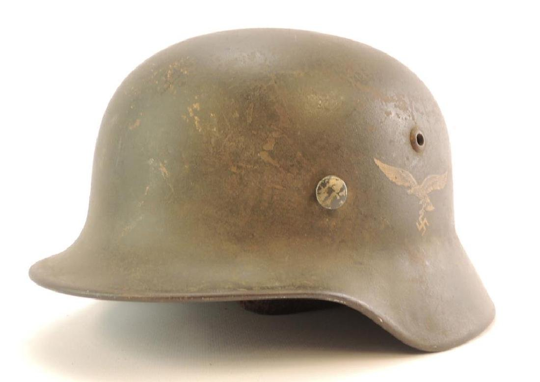 WW2 German Luftwaffe Helmet with Decal