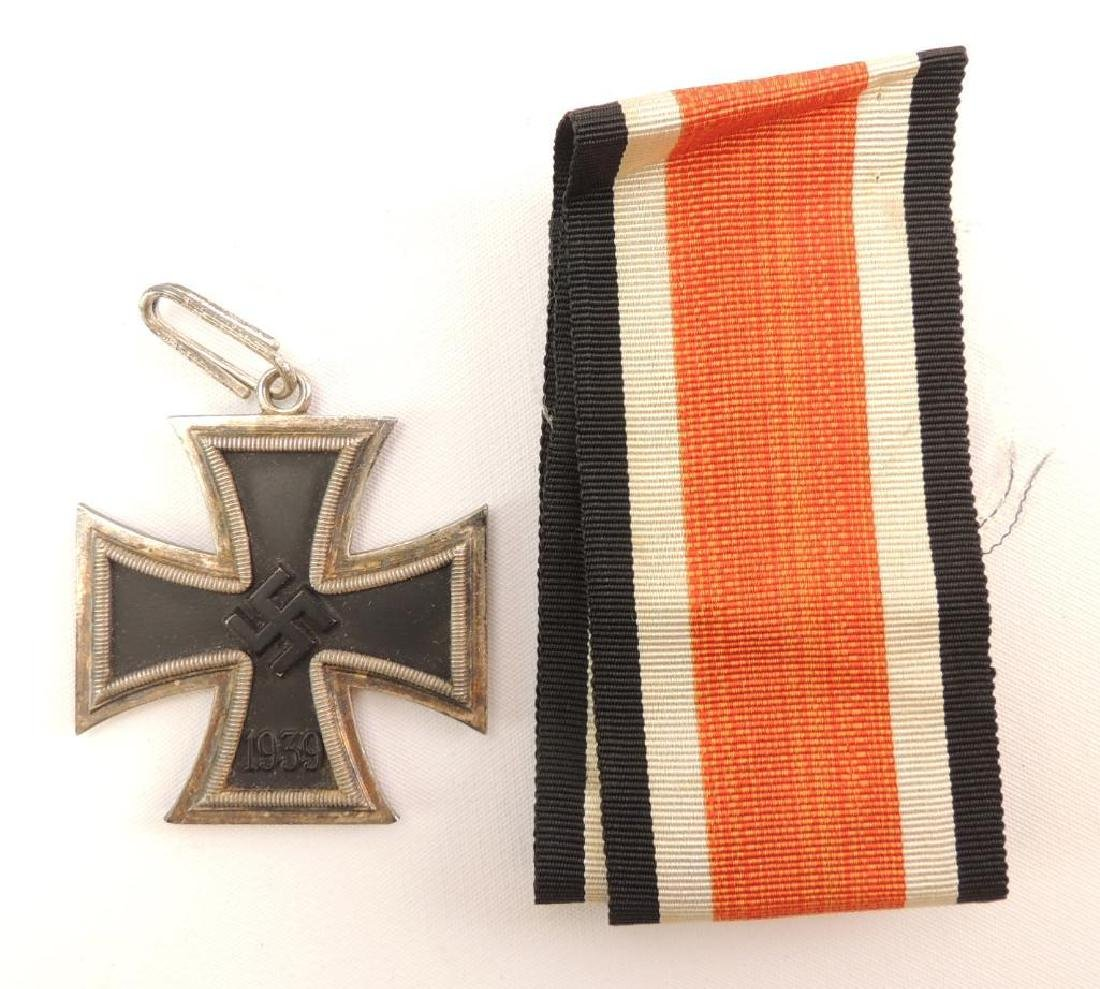 WW2 German Knights Cross with Ribbon, COA, and