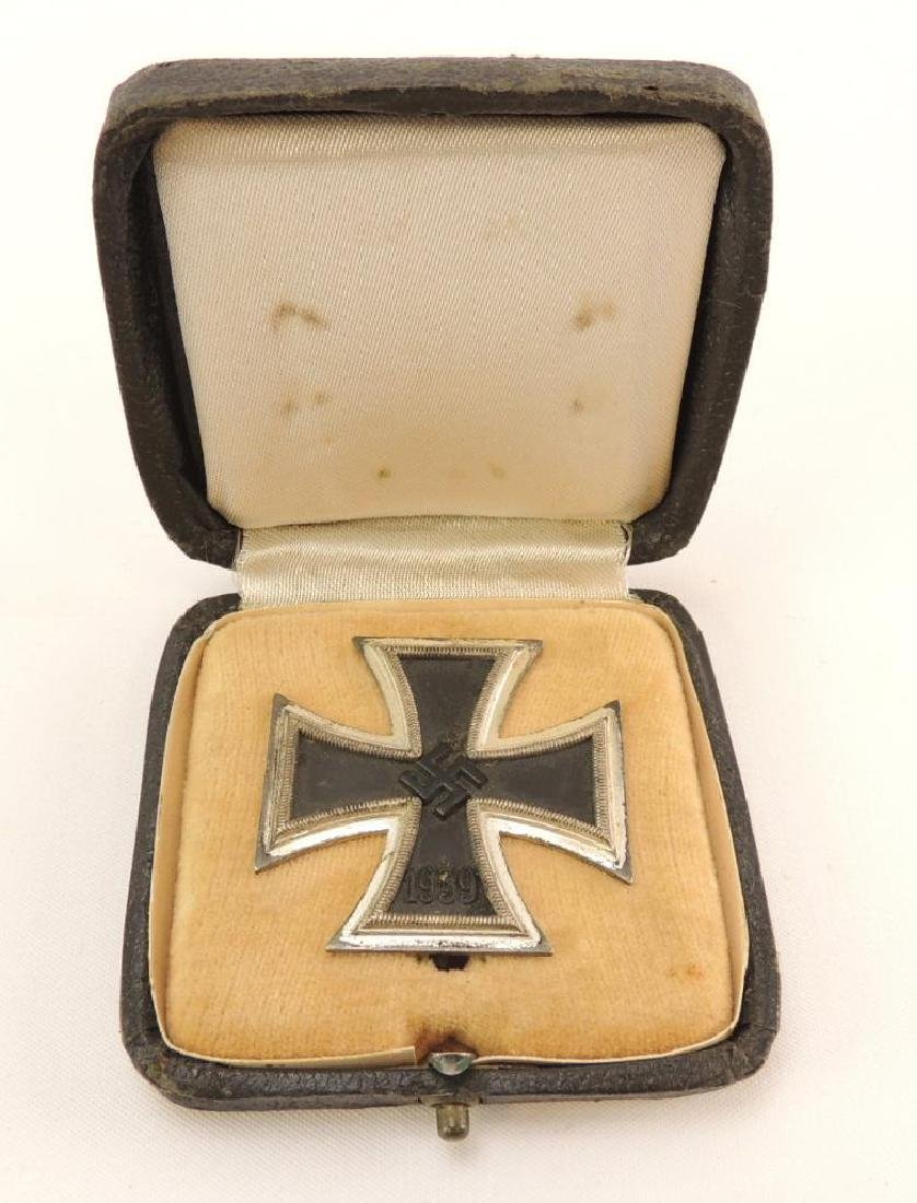 WW2 German First Class Iron Cross with Original Case