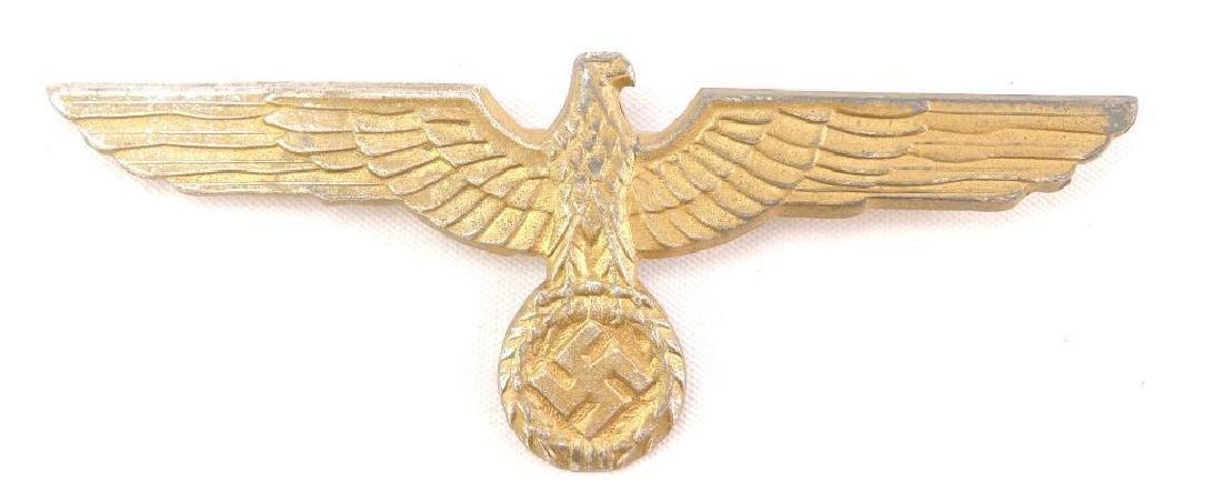 WW2 German Gold Tin Naval Eagle