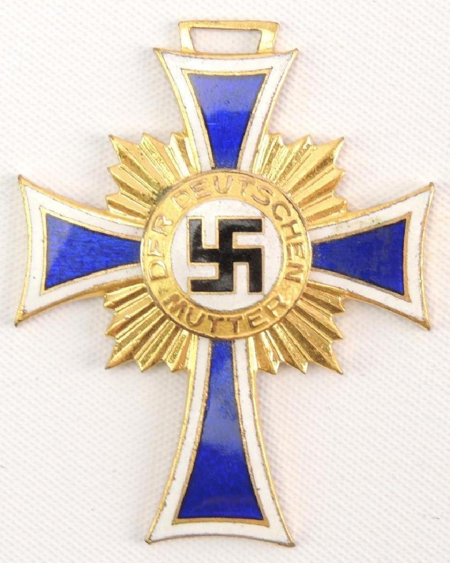 WW2 German Mother's Cross in Gold
