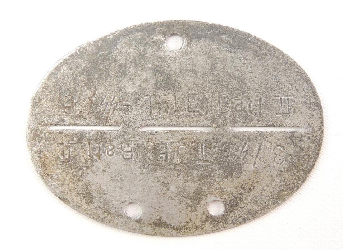 WW2 German SS Soldiers Dog Tag