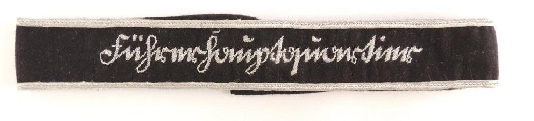 WW2 German Furherhauptquartier Cuff Title