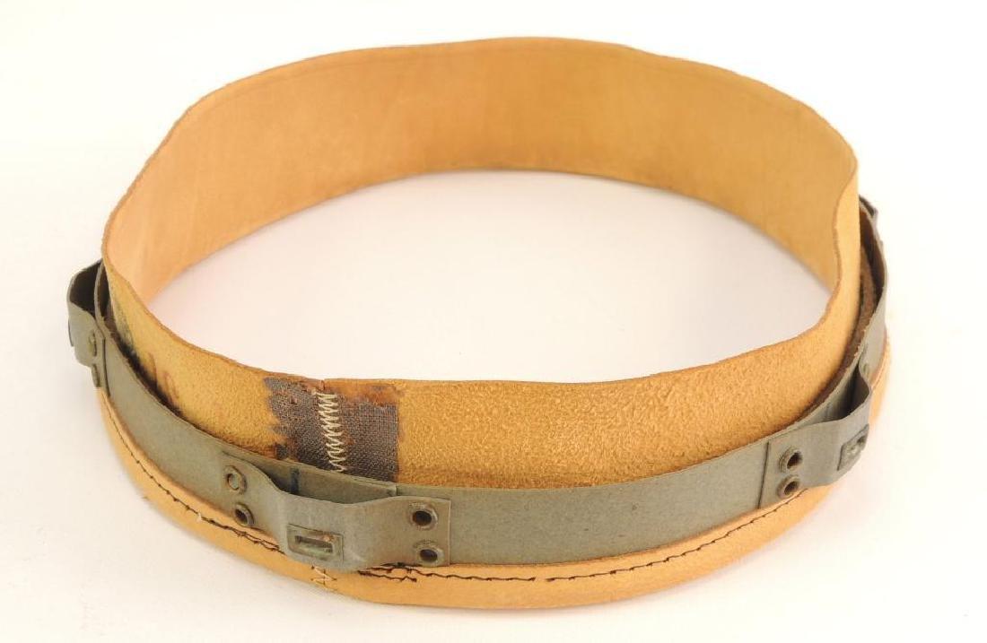 WW2 German Afrika Korp Pith Helmet Leather Sweatband