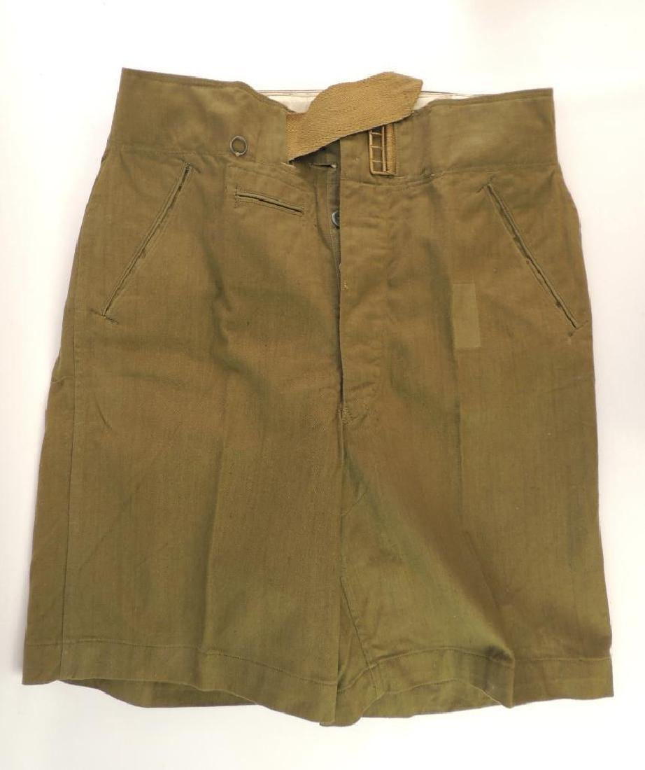 WW2 German Identified Afrika Korp Shorts with Original