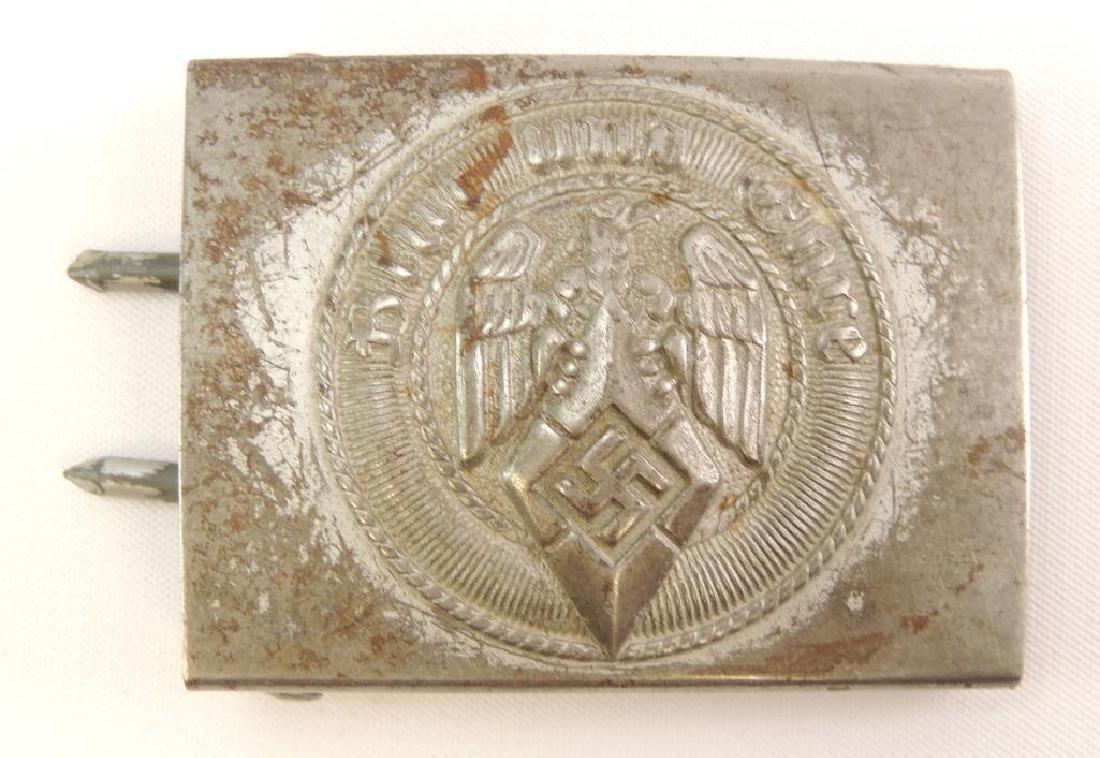 WW2 German Hitler Youth Steel Belt Buckle