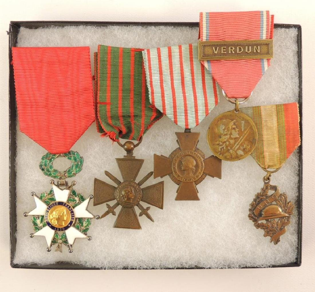 WW1 French Medal Grouping