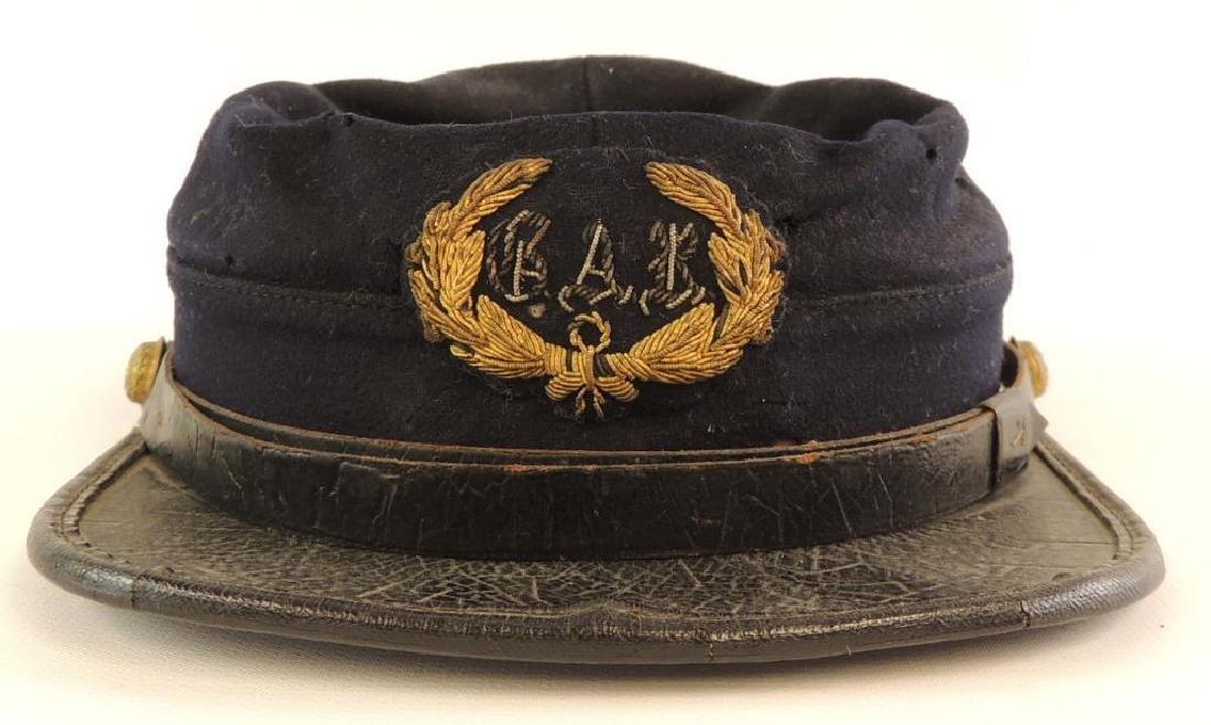Civil War GAR Veterans Kepi