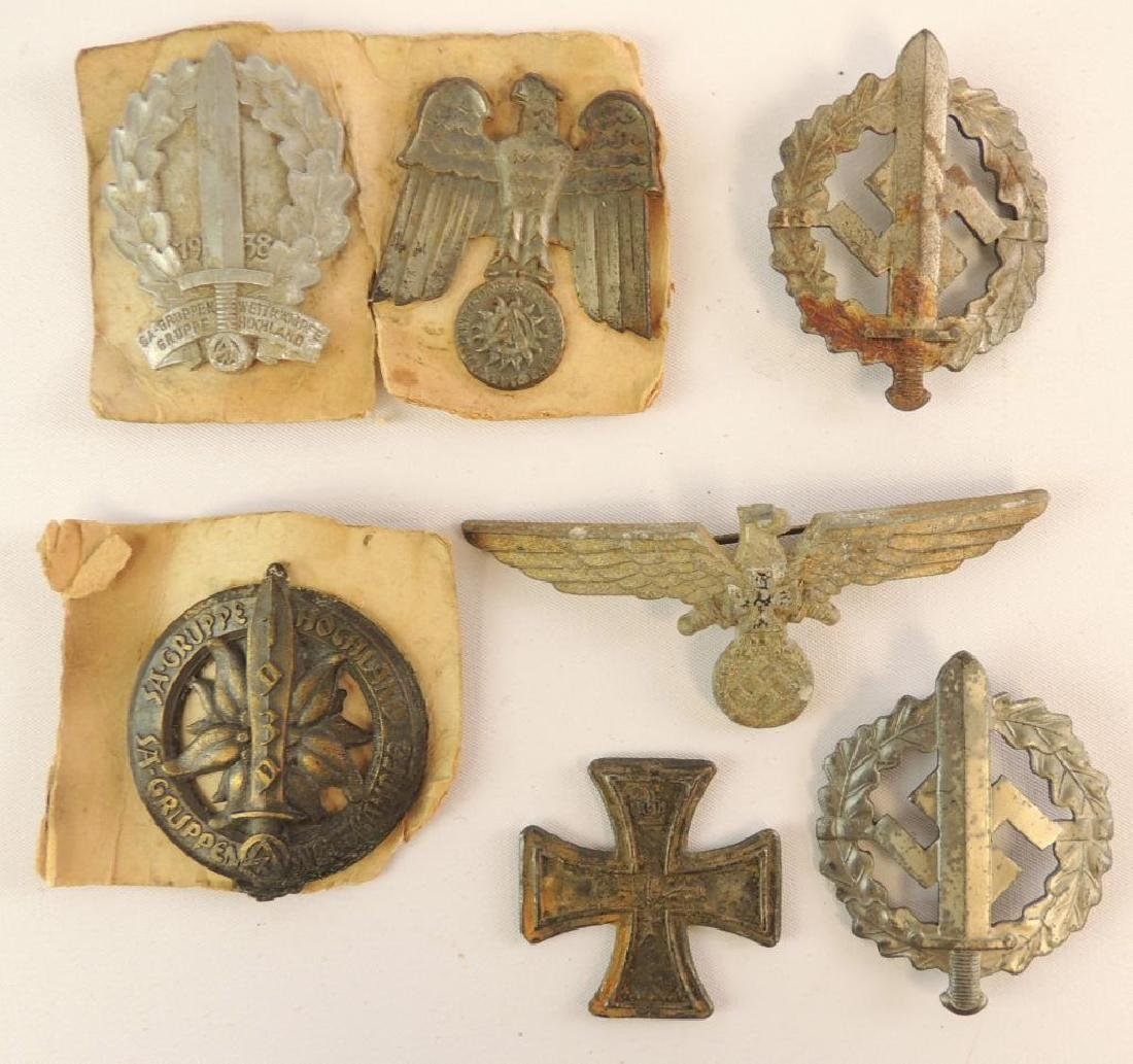 Group of 7 WW2 German Badges