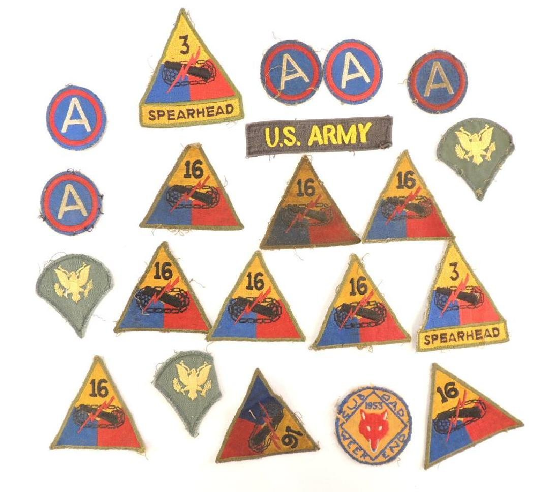 Group of 21 U.S. Military Patches