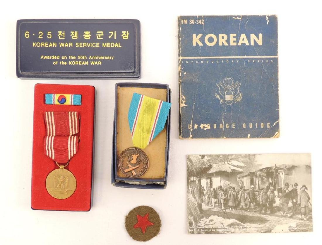 Korean War Grouping Medals and More