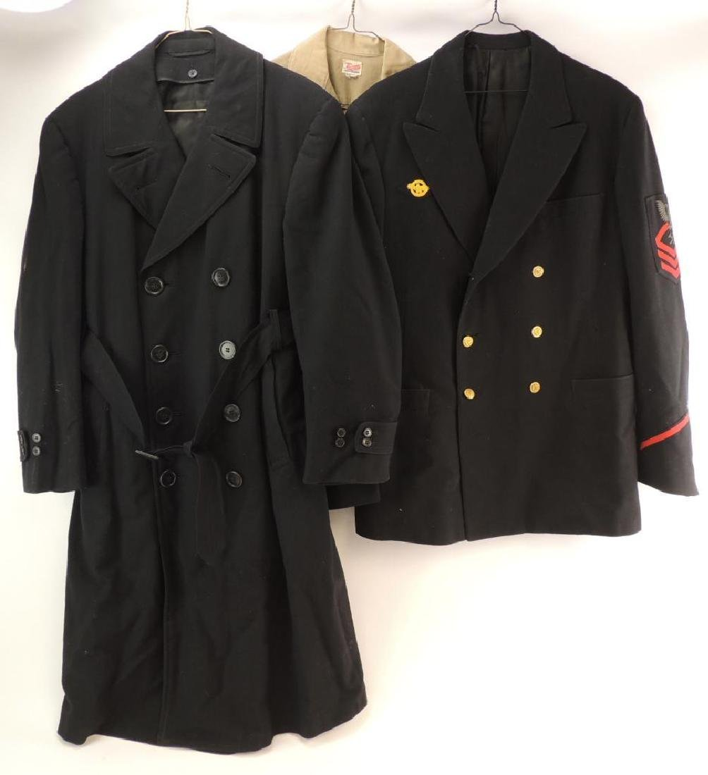 Group of 3 U.S. Navy Jackets and Shirt