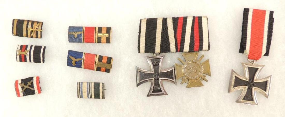 German Style Medal and Rank Bar Grouping