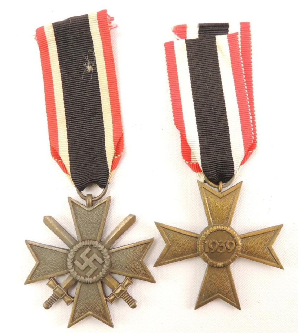 Group of 2 German Combat and Merit Medals