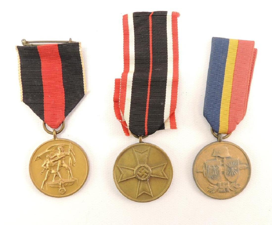 Group of 3 German Medals