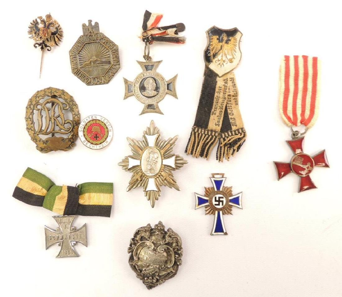 Group of 11 German Medal and Badges