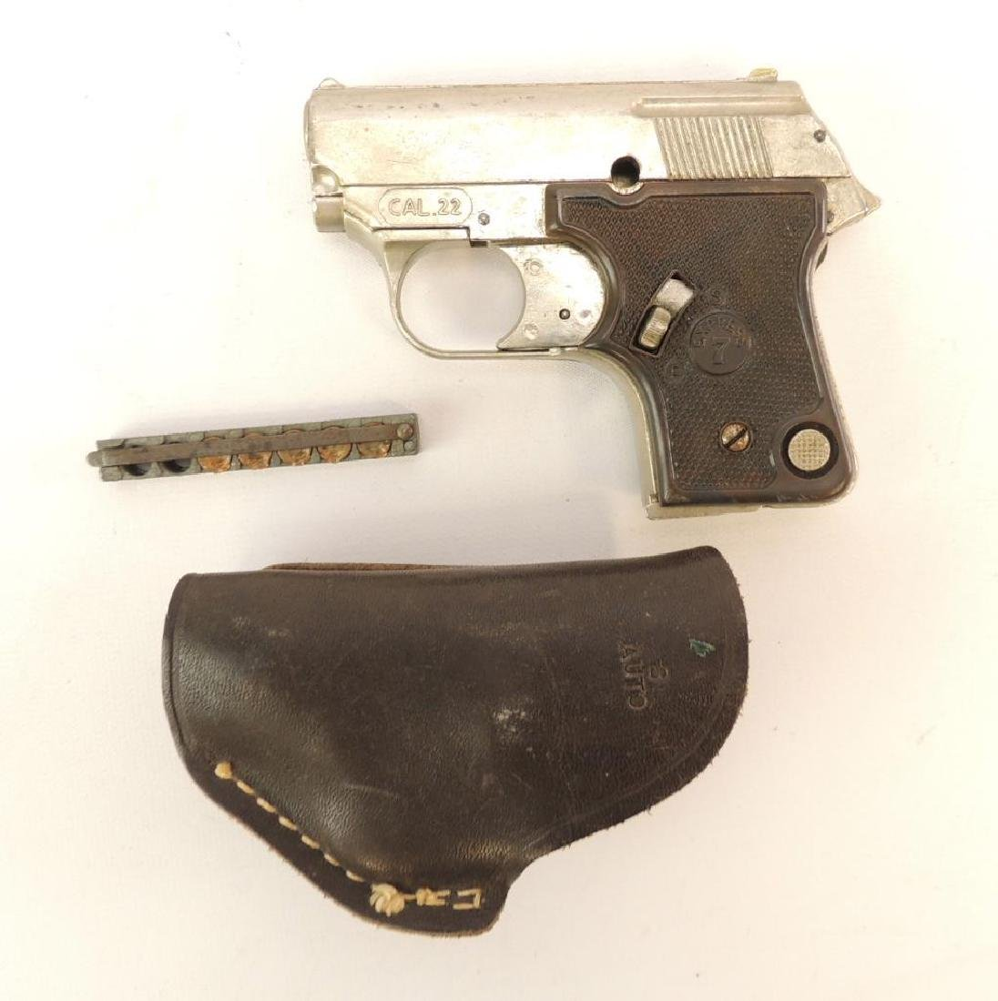Uz Italian Made Express 7 .22 Cal. Tear Gas Pistol with