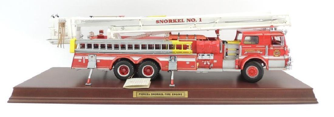 Franklin Mint Precision Models Pierce Snorkel Fire