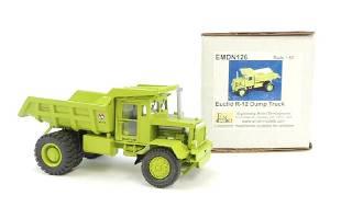 EMD Euclid R12 Toy Dump Truck with Original Box