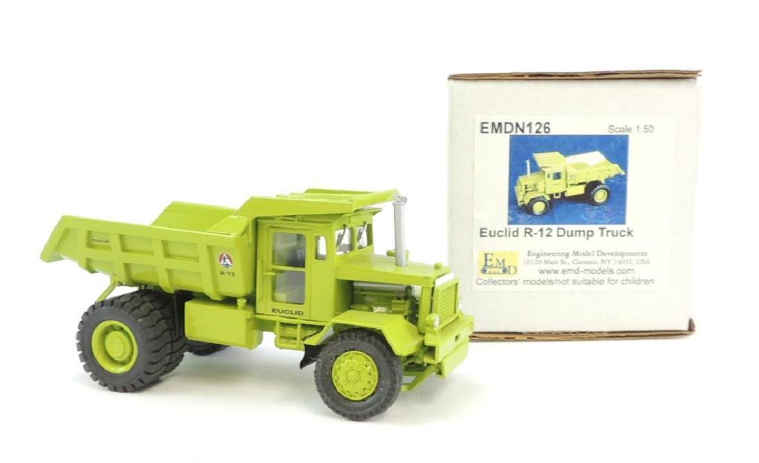 EMD Euclid R-12 Toy Dump Truck with Original Box