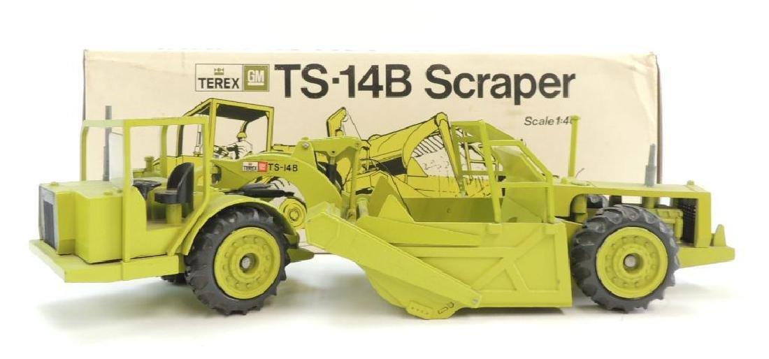 Conrad Terex GM TS-14B Die-Cast Toy Scraper with