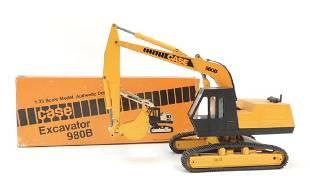 Conrad Case 980B DieCast Toy Excavator with Original
