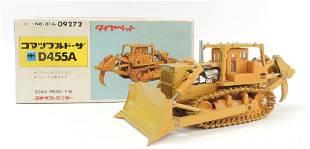 Diapet Komatsu D455A DieCast Toy Dozer with Original