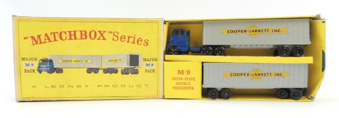 Vintage Lesney Matchbox Cooper Jarret Inc. Major M-9