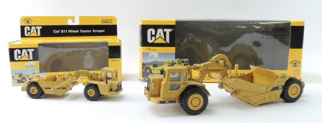 Group of 2 Norscot Caterpillar Die-Cast Toy