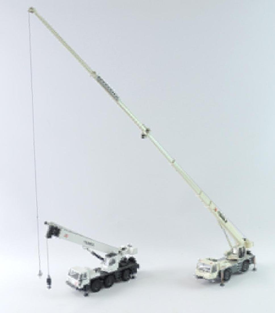 Group of 2 Terex Die-Case Mobile Hydraulic Cranes
