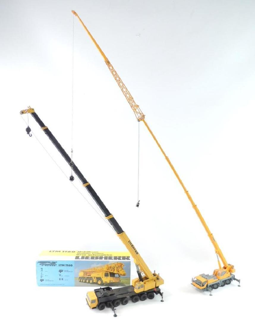 Group of 2 Conrad Liebherr Die-Cast Replica Mobile