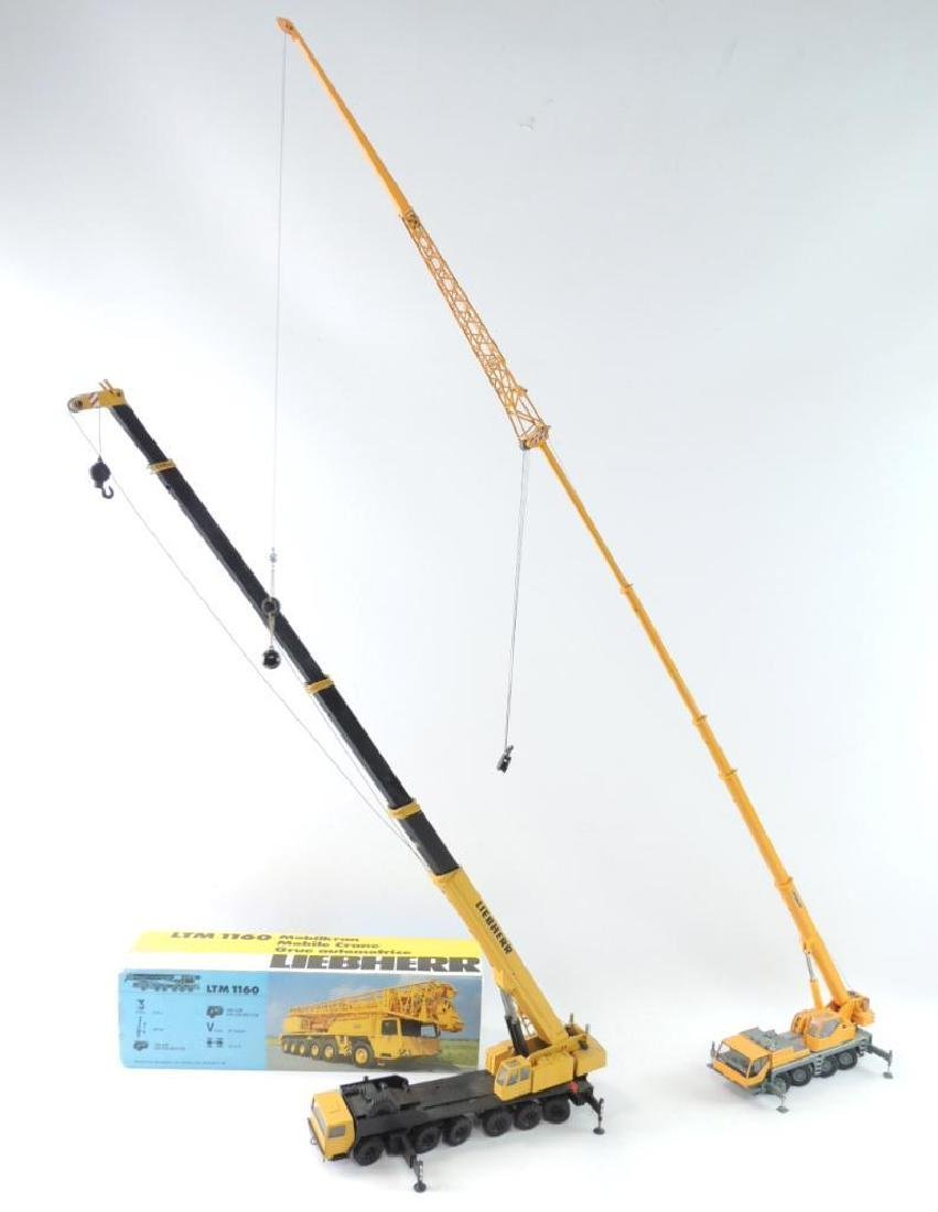 Group of 2 Conrad Liebherr Die-Cast Replica Mobile - 2