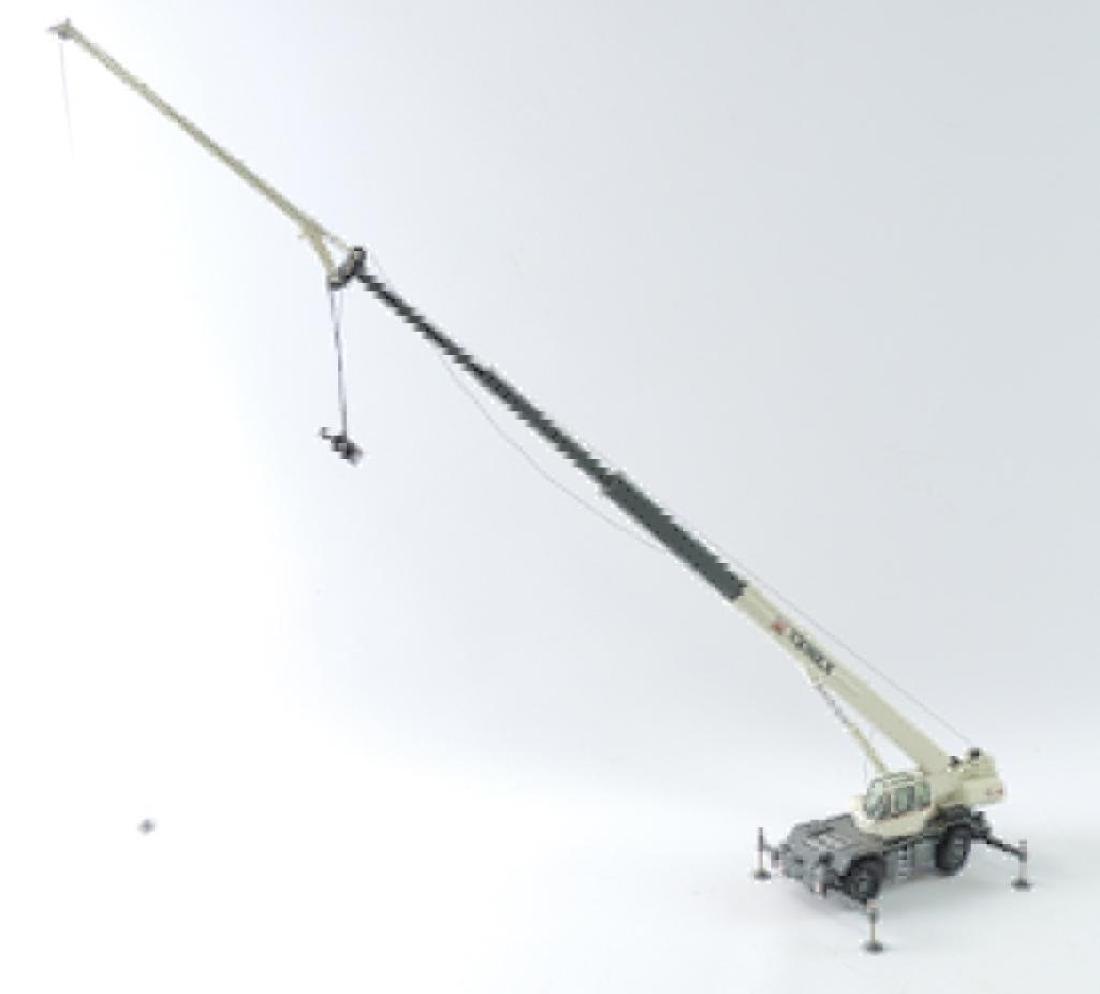 NZG Terex RC45 Die-Cast Replica Rough Terrain Crane