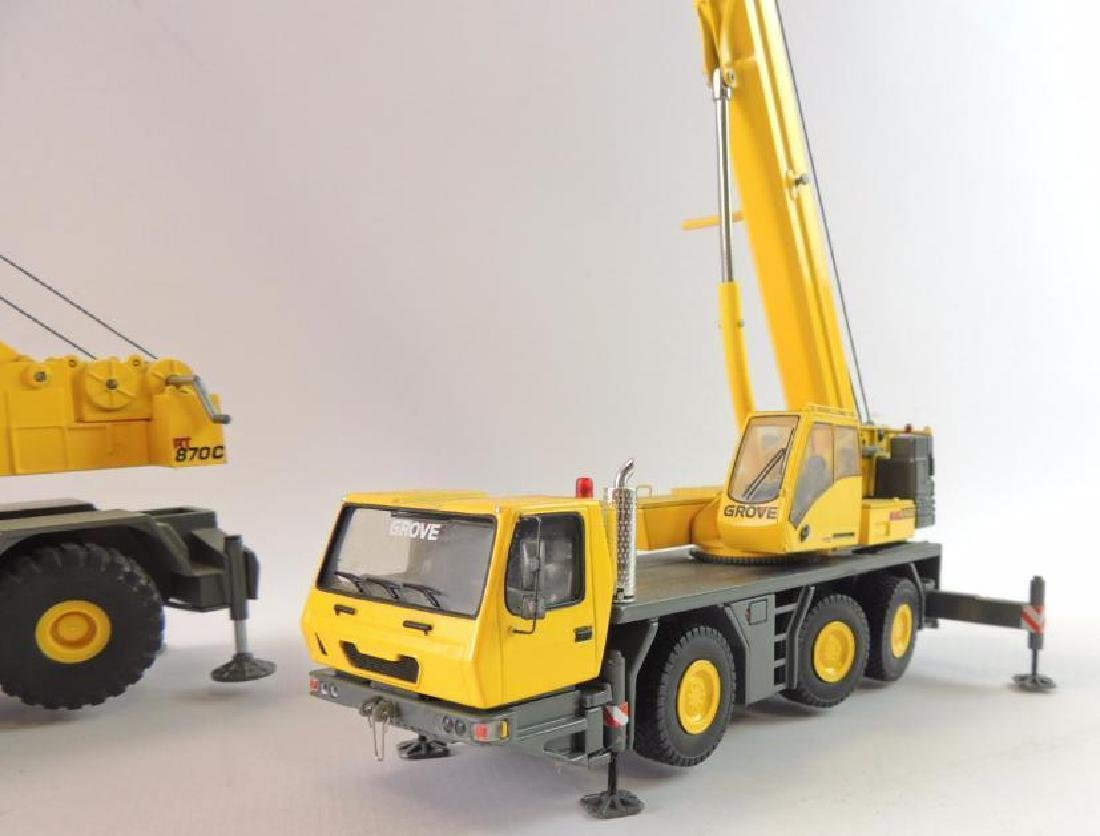 Group of 2 Grove Die-Cast Replica Mobile Hydraulic - 2