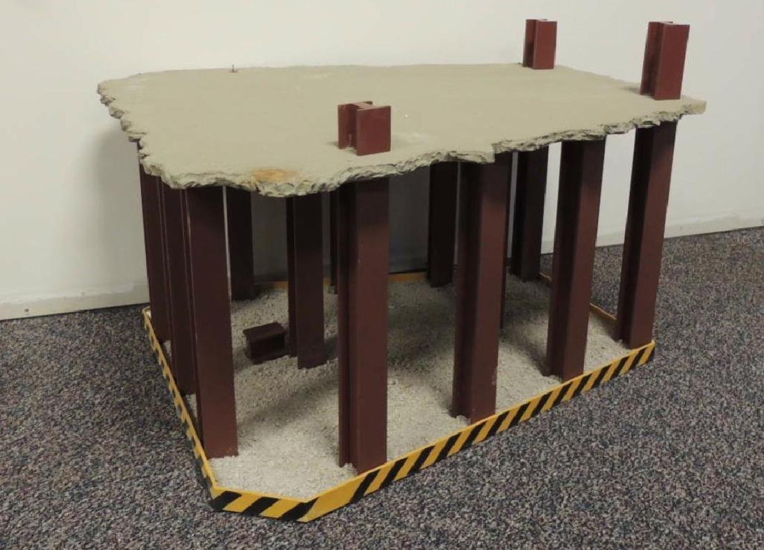 Custom Model Crane Display Stand