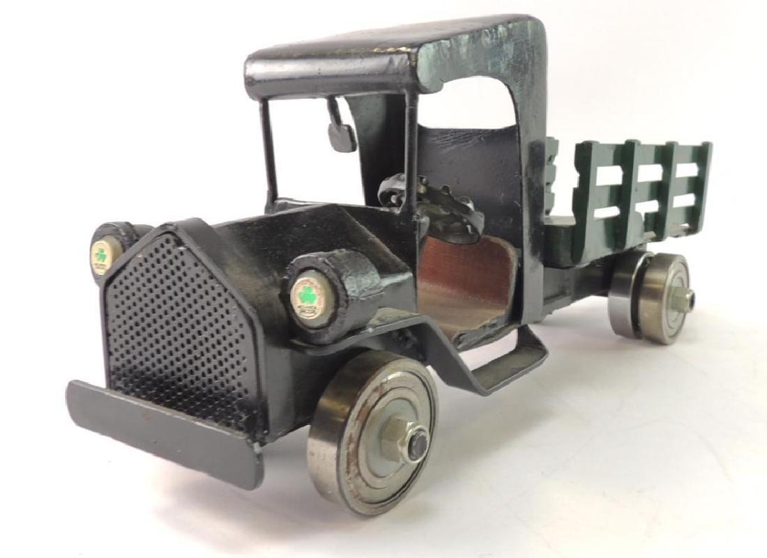 Homemade Steel Model Car