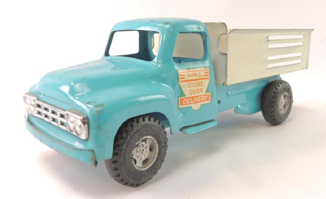 Vintage Buddy L Pressed Steel Store Door Delivery Truck
