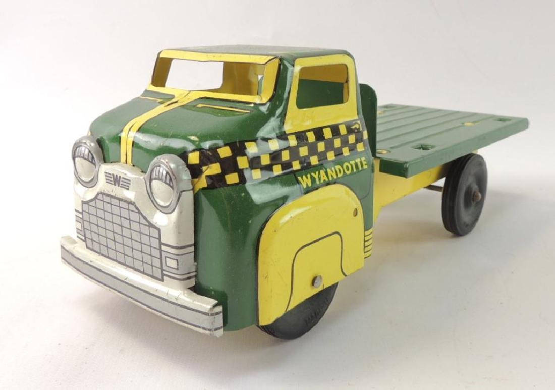 Vintage Wyandotte Toys Pressed Steel Delivery Truck