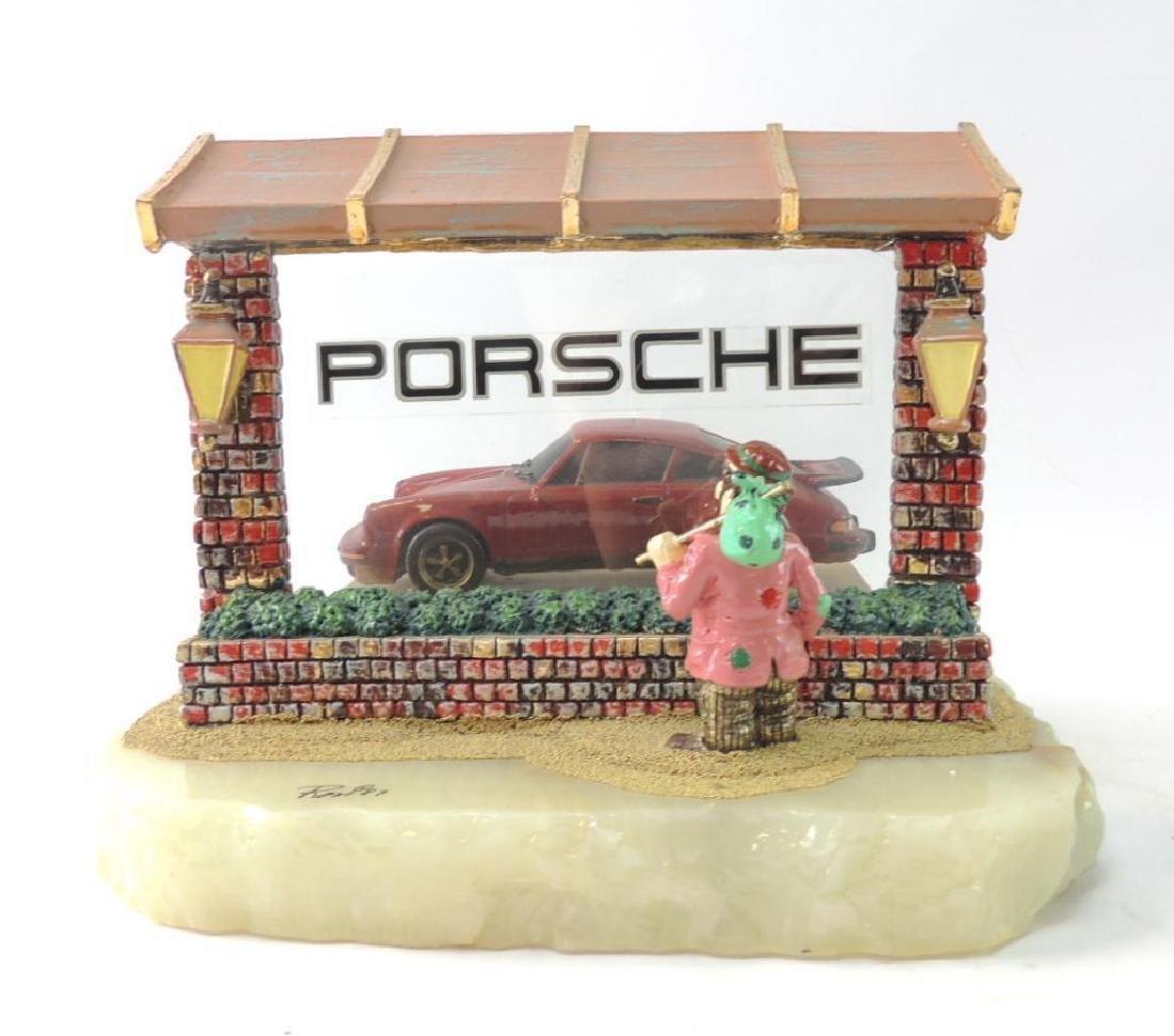 Limited Edition Ron Lee's World of Clowns Porsche