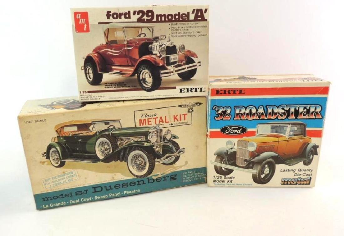 Group Of 3 Die-Cast And Plastic Model Kits
