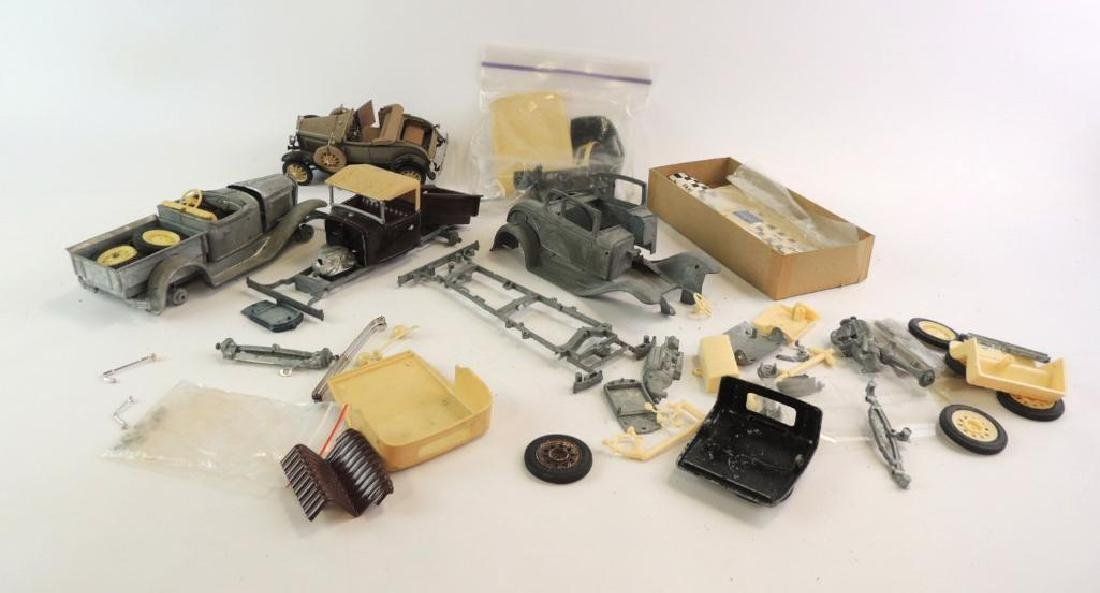 Group Of 4 Hubley And More Die-Cast Model Cars For