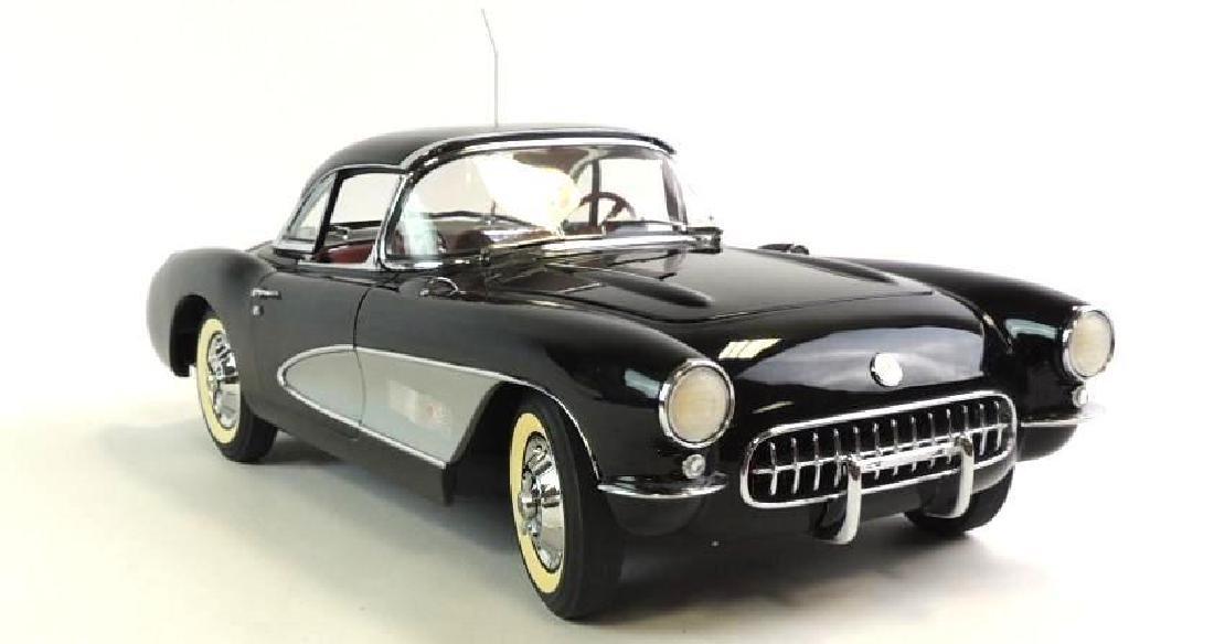 Danbury Mint 1957 Chevrolet Corvette Die-cast Car